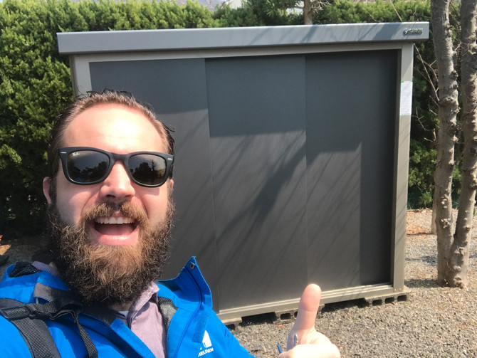 I built a shed!