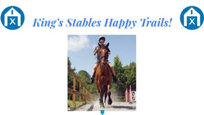 Benefit Ride for King's Stables, an Equine Therapy Program