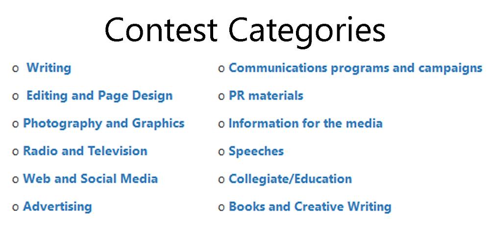 Alabama writing editing photography contest