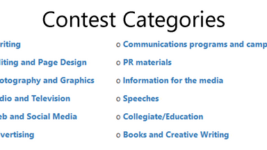 Now Accepting Alabama Communications Contest Entries