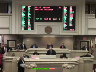 Alabama House Approves Medical Cannabis, Next Step is Governor's Office