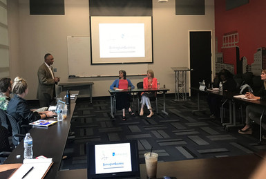 Two AMP Members Speak to Small Businesses about Marketing Strategy