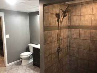 Pinson House Increases in Value with a Basement Bathroom