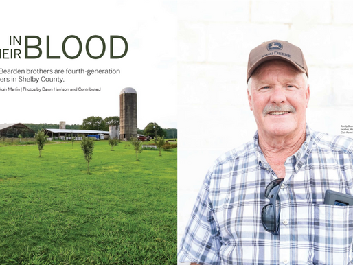 Shelby Living Magazine Features Farm History