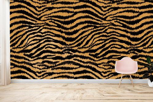 TROPICAL SAFARI | Zebra Mustard