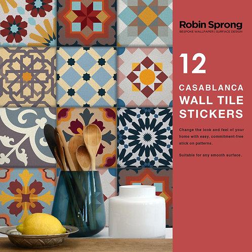 Casablanca Wall Tile Stickers