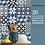 Thumbnail: 20 Monochrome Geometric Wall Tile Stickers