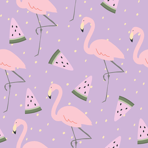 SUMMER WONDER | Flamingo & Watermelons
