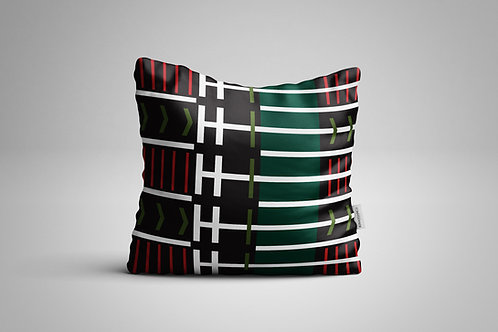 Venda Pattern | Red and Green