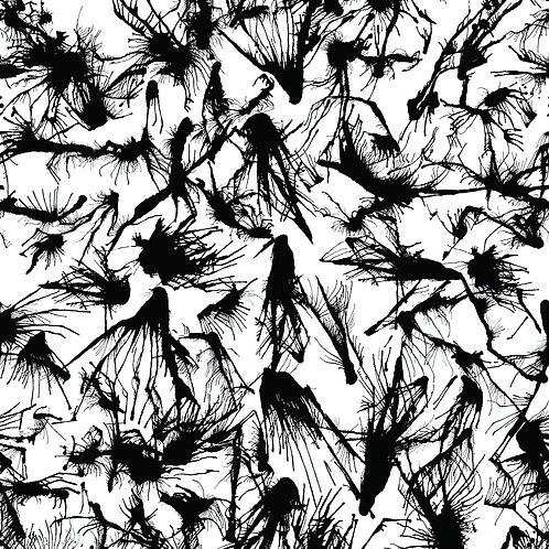 SPLATTER | Black on White
