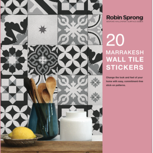20 Marrakesh Wall Tile Stickers