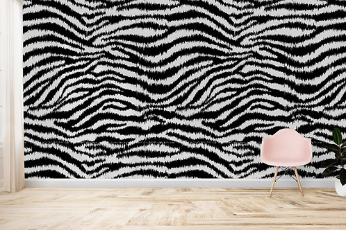 TROPICAL SAFARI   Zebra Mono