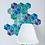 Thumbnail: 20 Shades of Winter Hexagon Wall Decals