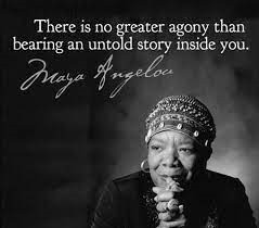 Maya Angelou - share authenticity through your story