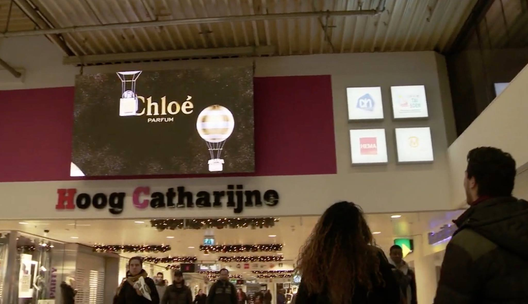 Hoog Catharijne LED Scherm Display