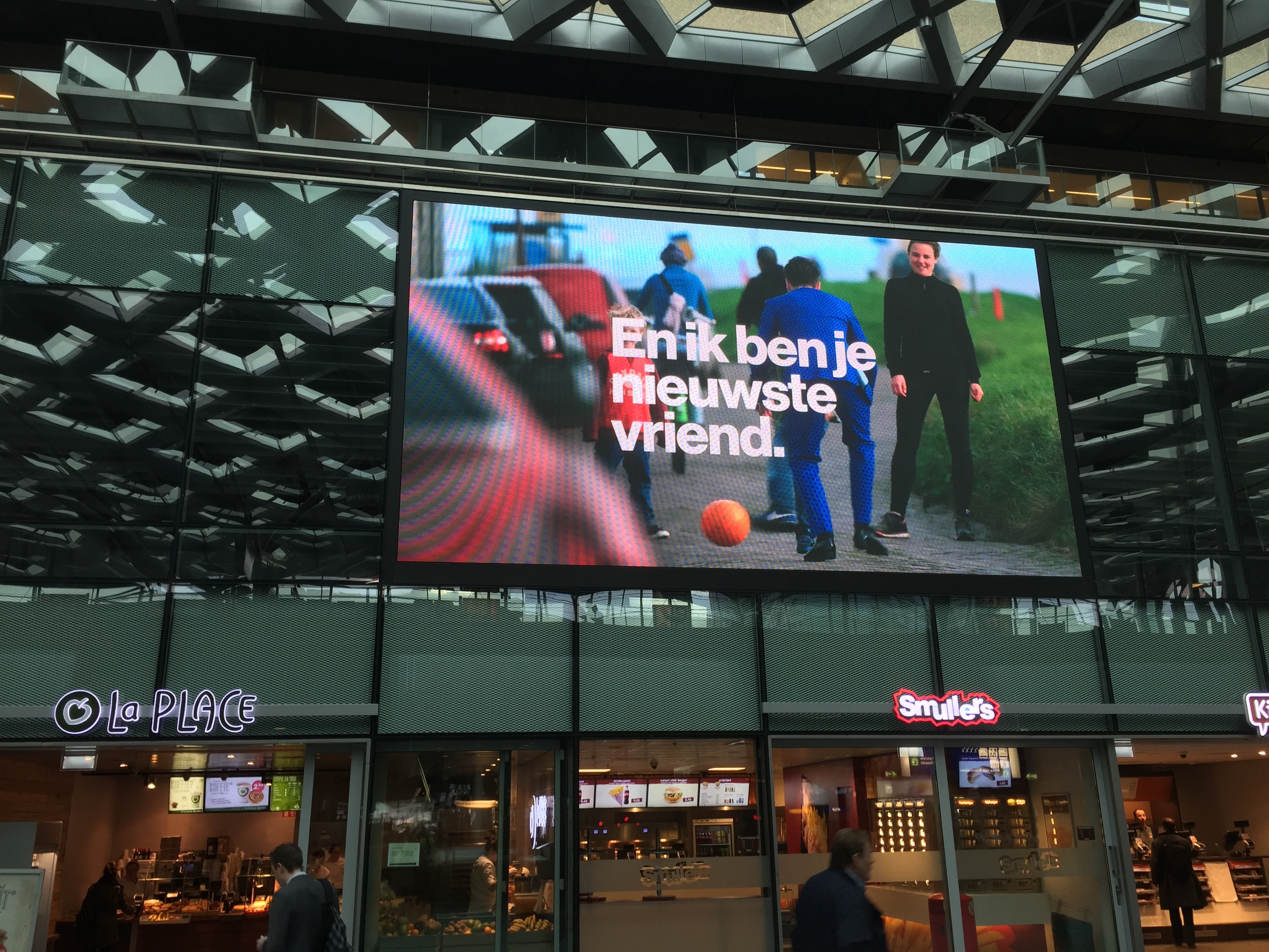Den Haag CS LED scherm LED Display