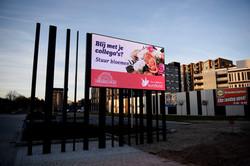 Roombeek Enschede LED Scherm Display