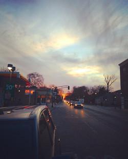 Commuter Sunset