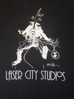 Laser City Studios t-shirt
