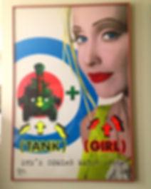 Tank Girl movie teaser poster