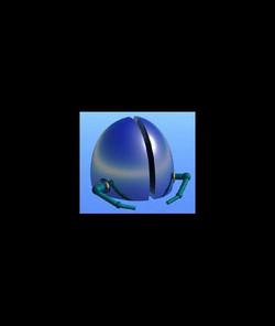 Burning Chrome VR Helmet prop