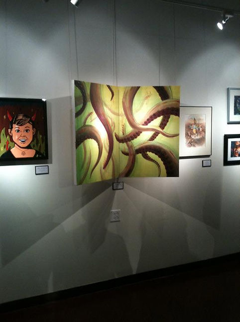 Cthulhu Rising in gallery.jpg