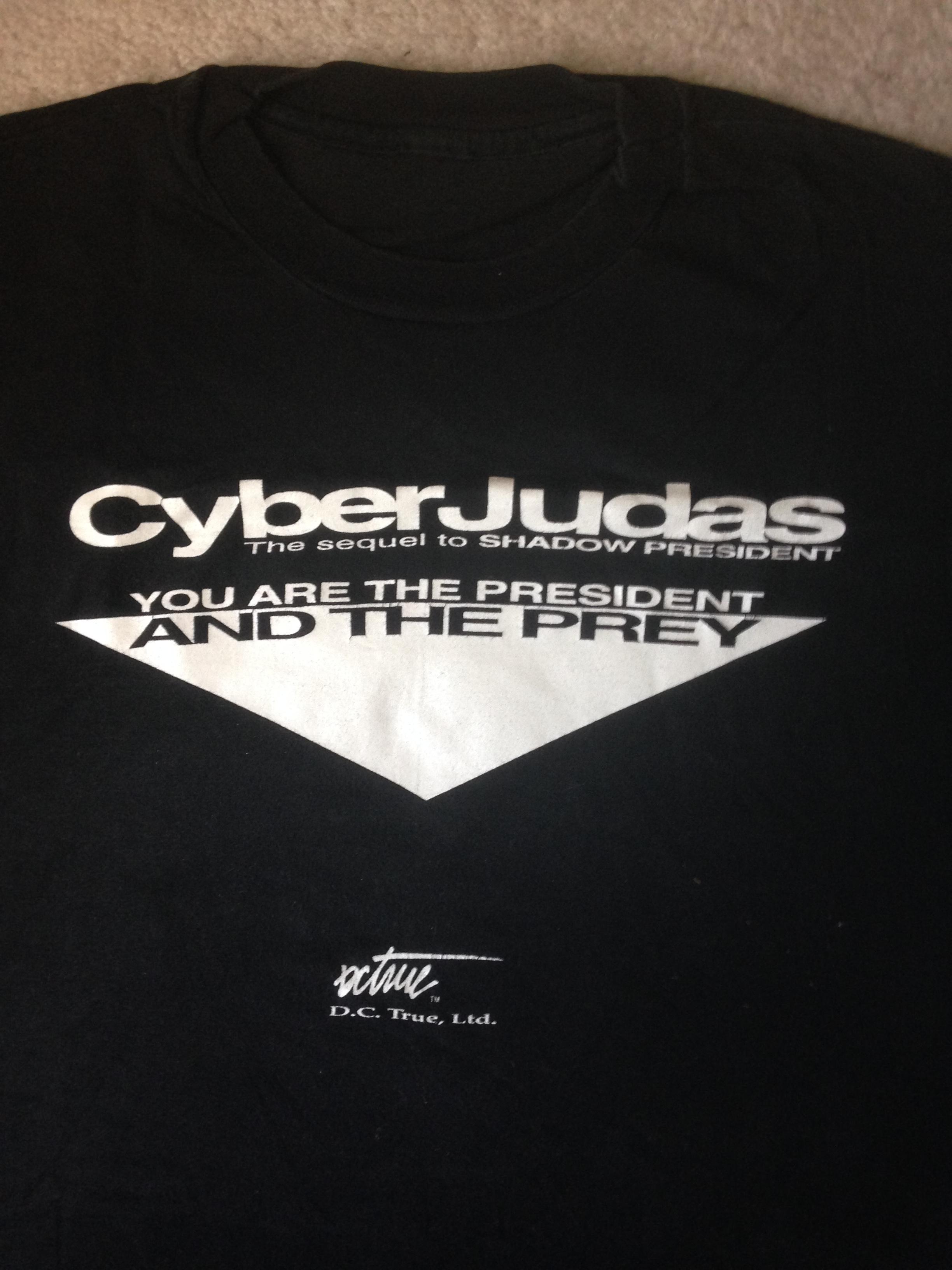 CyberJudas t-shirt