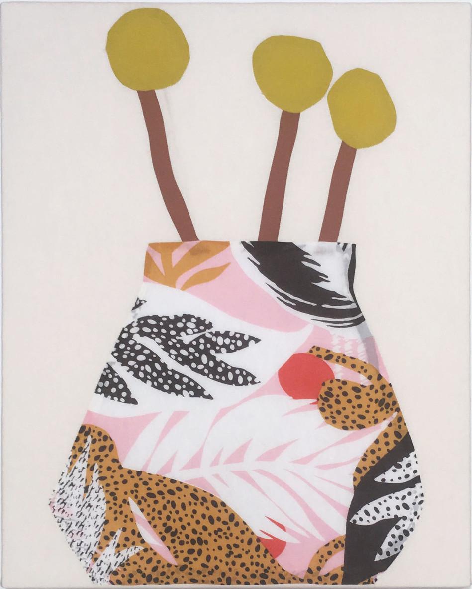Leopard Vase No1