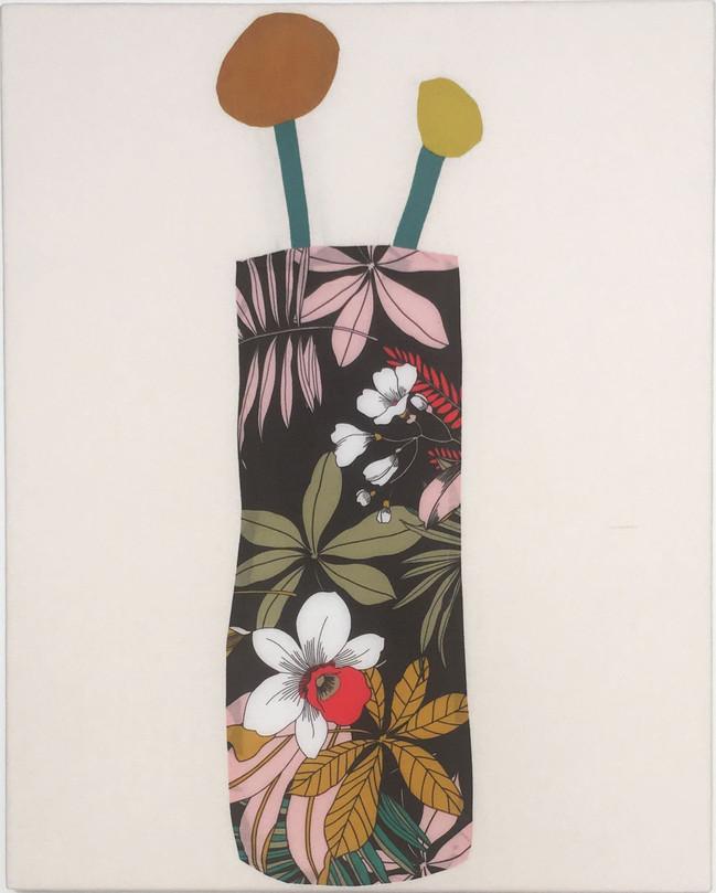 Hawaiian Print Vase No1