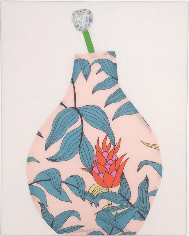 Ginger Flower Vase no1