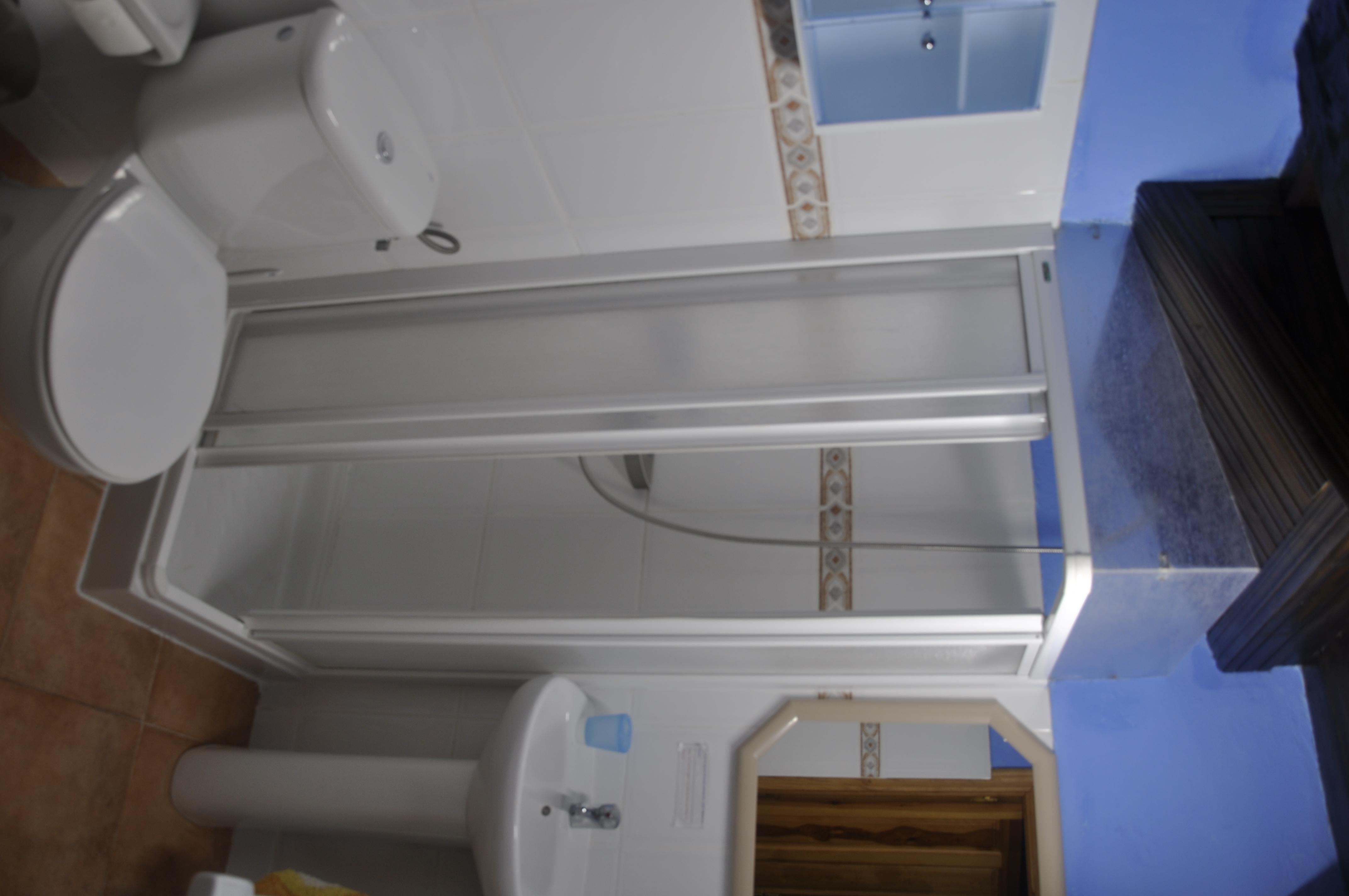 Baño en habitación 4