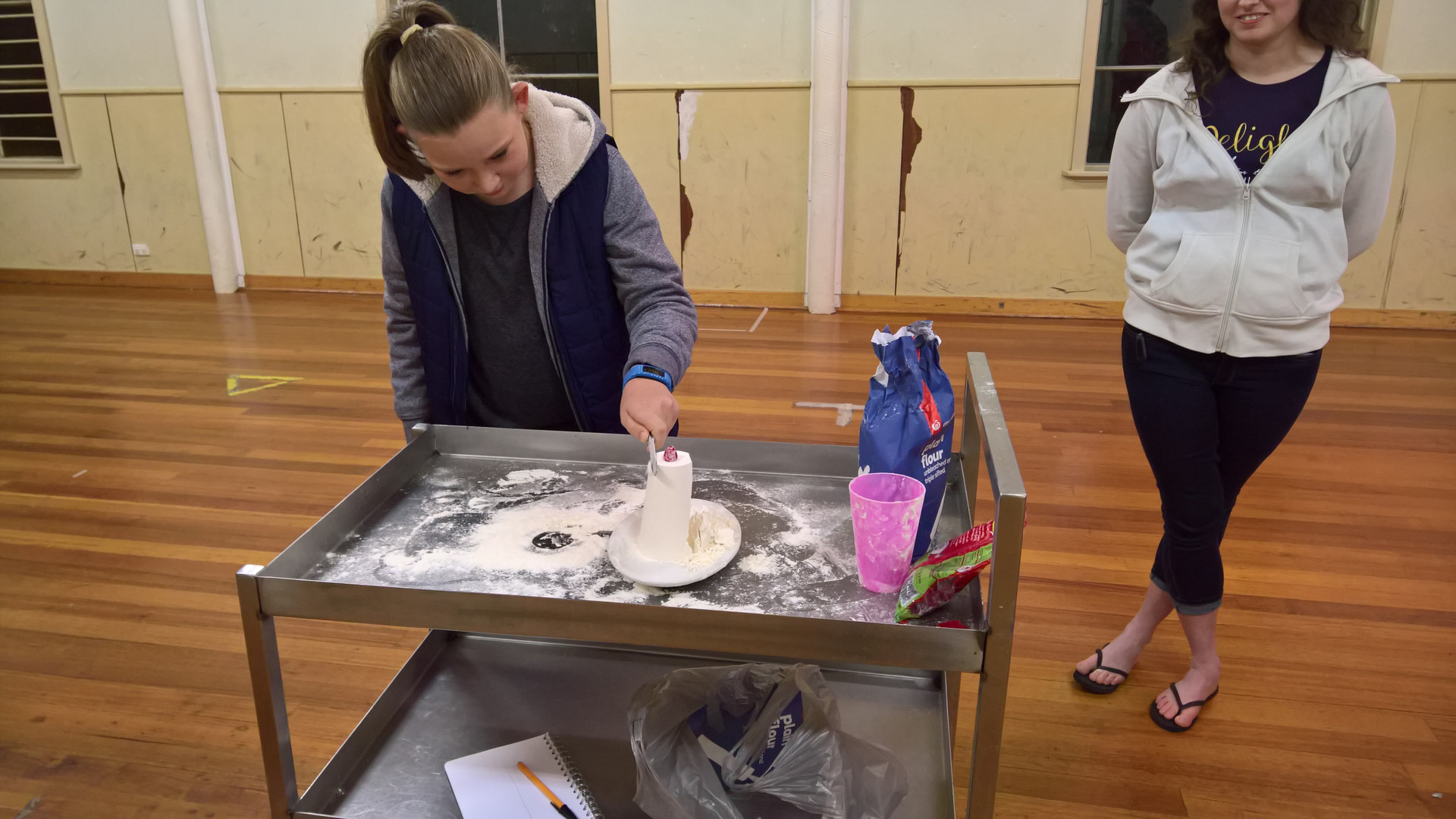 Flour Cake Game