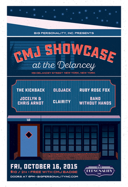 2015 CMJ Showcase at The Delancey NY