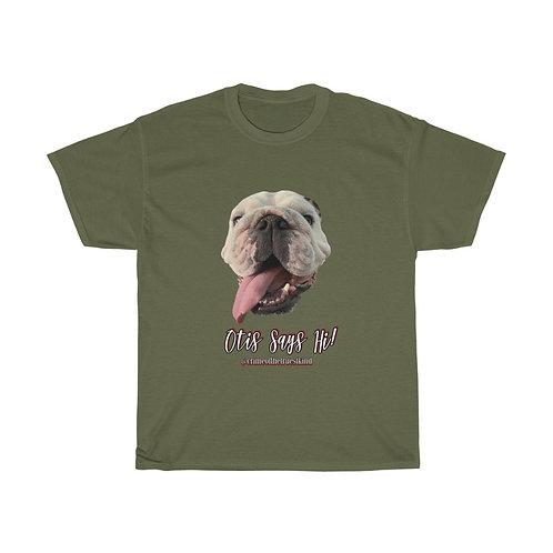 Otis Says Hi! Tee (design one)