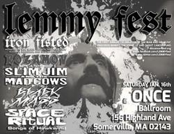First Annual LEMMYfest