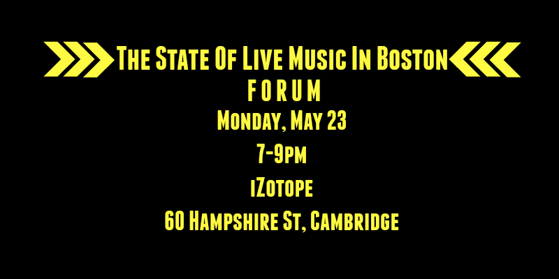 #BostonMusic Forum