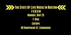 #BostonMusic Forum
