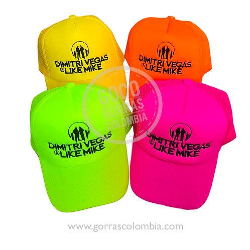 gorras varias unicolor personalizadas dimitri vegas empresa