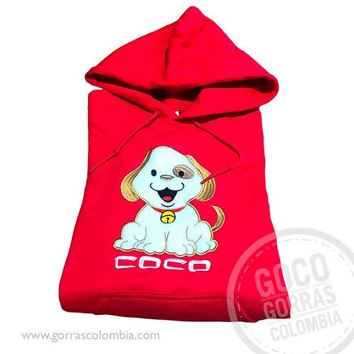 buso rojo personalizado mascota perro