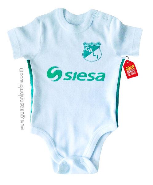vista frontal body blanco para bebe de deportivo cali