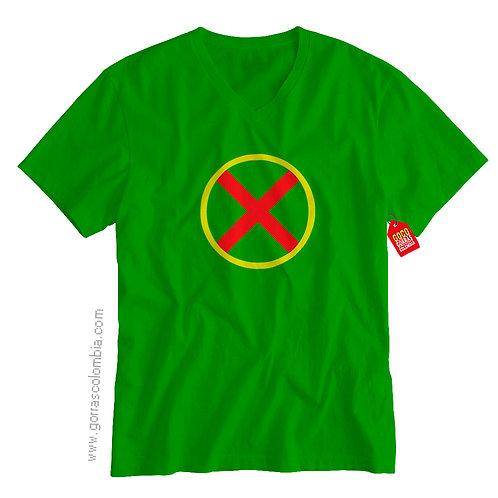 camiseta verde de superheroes detective marciano