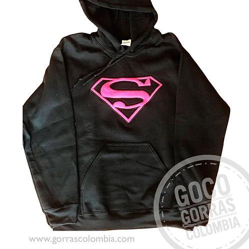 buso negro personalizado superwoman
