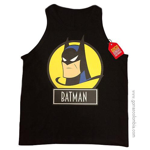 camiseta negra para niño de batman