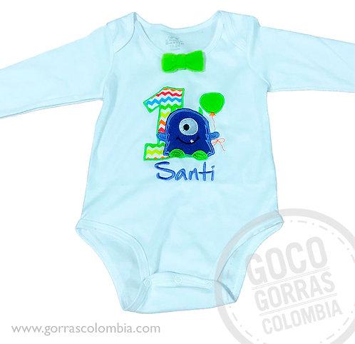 body blanco personalizado para bebe extraterrestre bebe