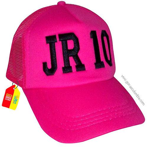 gorra fucsia unicolor personalizada jr10