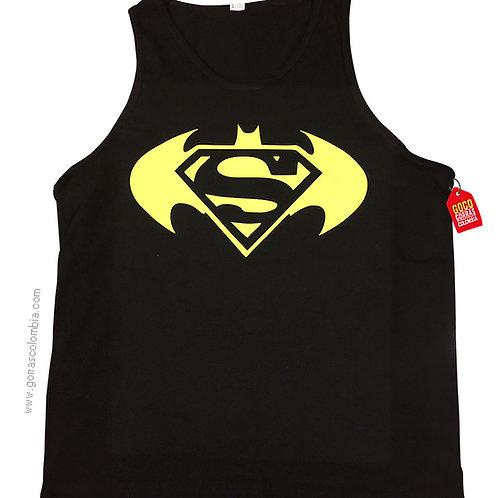 camiseta negra personalizada batman vs superman