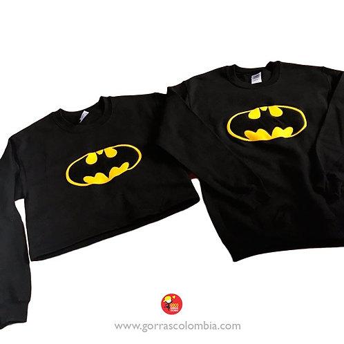 busos negros para pareja batman