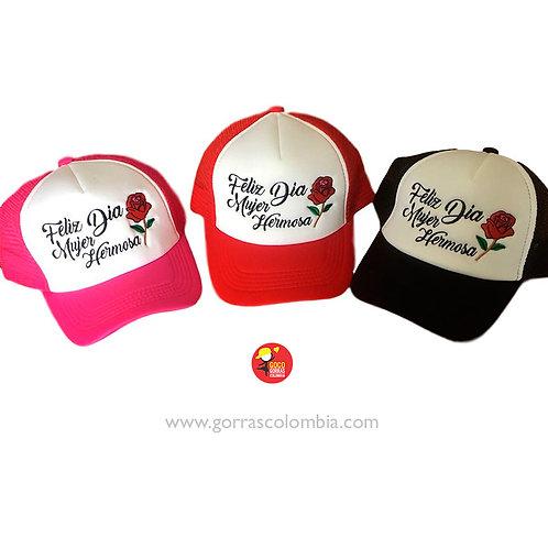 gorras varias para fiesta dia de la mujer