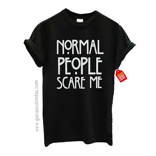 camiseta negra personalizada people