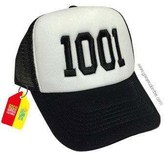 gorra negra frente blanco personalizada numeros